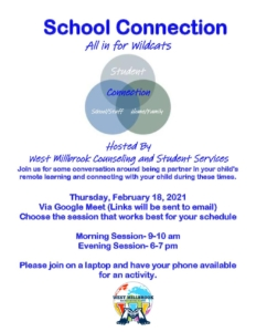 school counseling night flyer